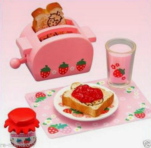 Re-ment miniature Lovely Strawberry House Cooking Kitchen Dessert Cafe RARE @10