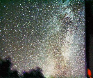 Carl Jones, photograph, sky, stars, milky way, night