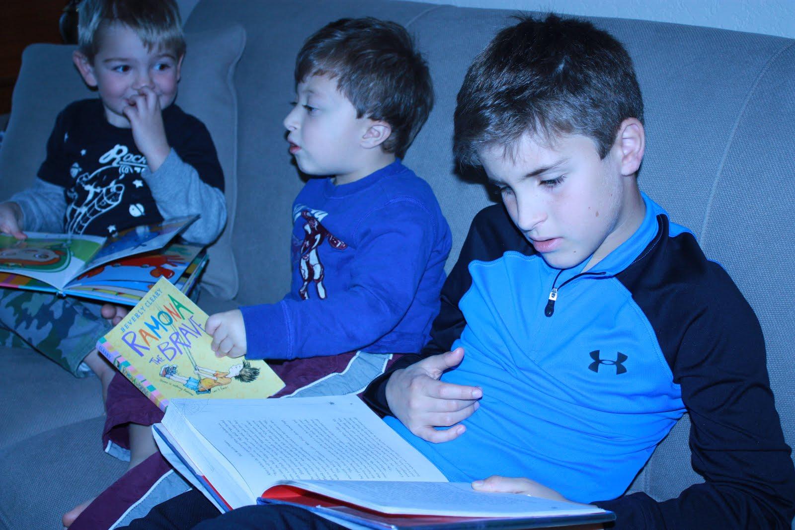 Three boys I love