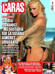 CARAS: ESTA SEMANA CON NOTA DE TAPA IMPERDIBLE A LA DIOSA URUGUAYA