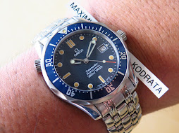 OMEGA SEAMASTER PROFESSIONAL 300 METER BLUE WAVE DIAL - BOY SIZE 36mm