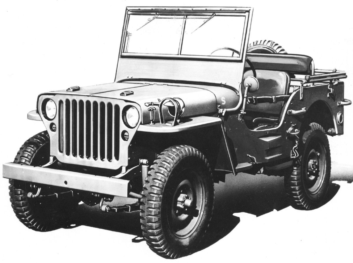 Willys truck 1 4 ton 4x4 jeep