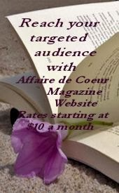 Advertise with Affaire de Coeur