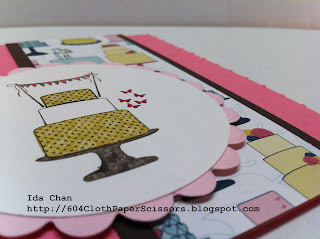 Stampin' Up! Make a Cake card by Ida Chan