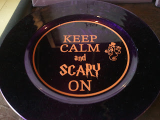 Keep Calm and Scary On vinyl decal