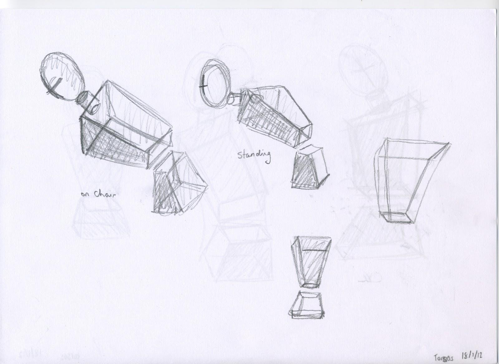 Geometric Life Drawing Geometric Life Drawing 2 Views