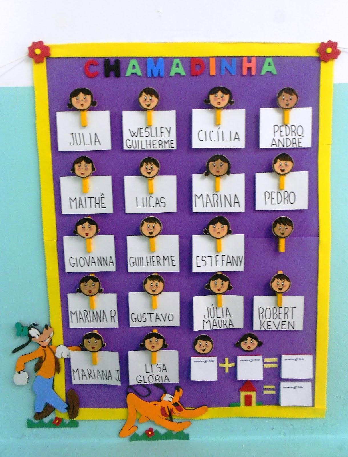 DANY Educação Infantil Decoração da minha sala de aula