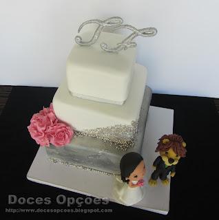 bolos decorados casamento bragança doces opções