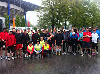 LC Duisburg Marathonkurs Generalprobenlauf!