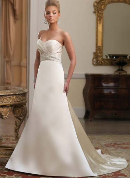 find wedding dress by personality