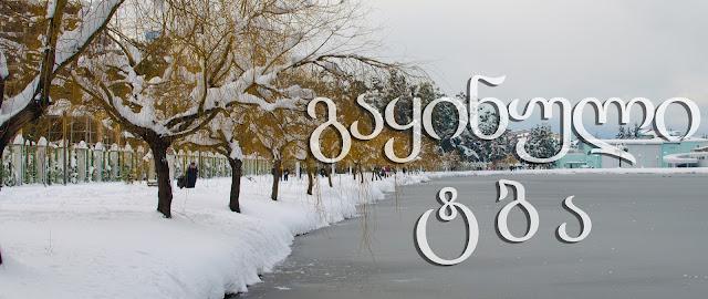 გაყინული ტბა. ბათუმი. замерзшее озеро. Батуми. frozen lake. Batumi