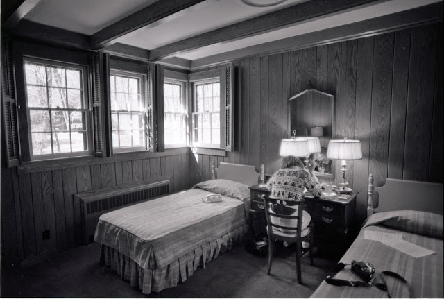 Susan Ford In Her Bedroom In Aspen Lodge March 1975