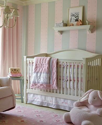 10 cuartos de beb s en rosa y gris colores en casa for Decoracion habitacion nina gris y rosa