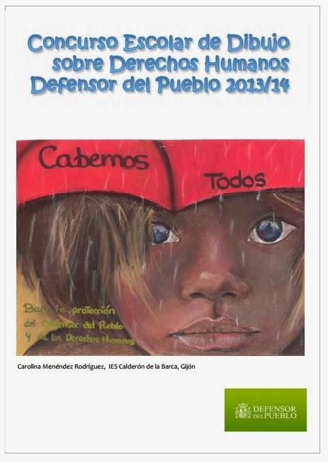 El rinc n del cole concurso escolar de dibujo sobre for Oficina del defensor del pueblo