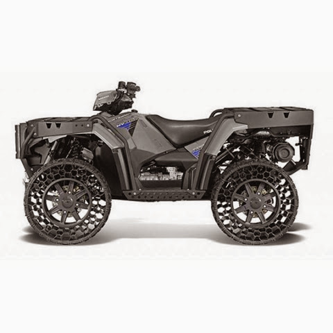 Airless Wheels ATV