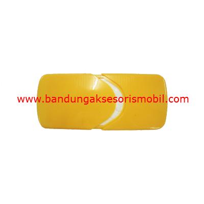 Box Tissue Plastik Exclusive Yellow