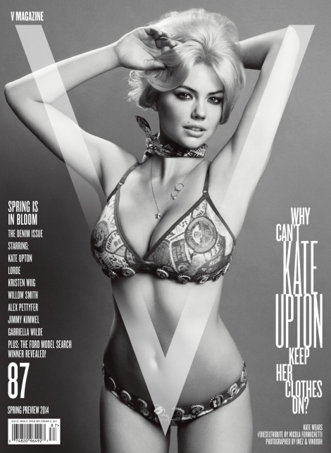Kate Upton by Inez & Vinoodh for V Magazine No.87