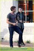 Ryan Gosling and Rooney Mara on 'Malick' Set ryan gosling serenades rooney mara on malick set
