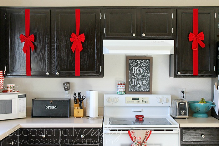 Christmas Decor For Your Kitchen | Occasionally Crafty: Christmas ...