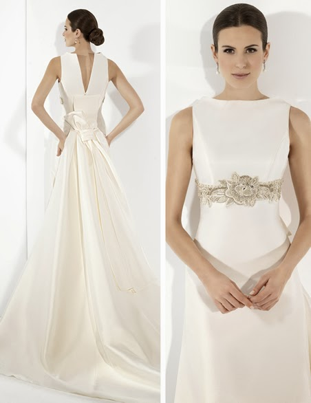 vestidos y trajes de novia: vestidos de novia ¿con o sin cola?