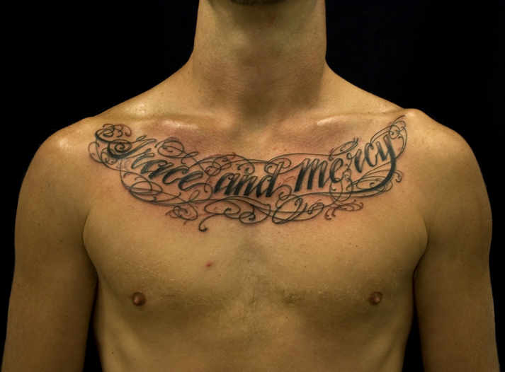 Chest tattoos for men quotes quotesgram for Tattoo quotes for men