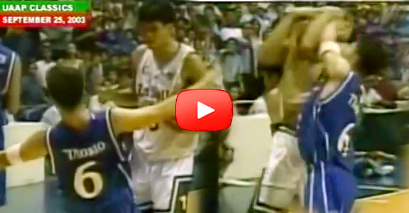 #ThrowbackThursday | Ateneo's LA Tenorio & La Salle's Jerwin Gaco Incident (VIDEO)