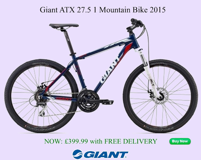 2015 Mountain Bike: Giant ATX 27.5 1