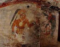 Hallazgo. Una de las piezas muirales fue descubierta en el complejo de Xultun. (Foto: Archivo)