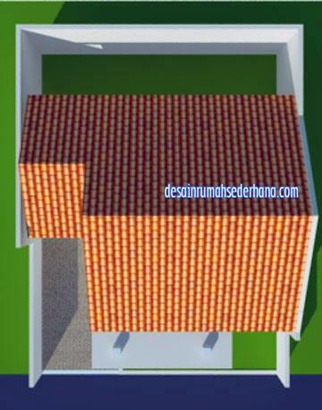 Gambar Desain Rumah Minimalis Type 45 - Model Atap