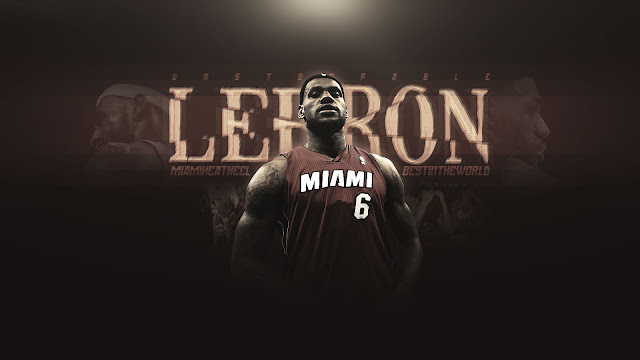 lebron james miami heat wallpaper 2011. LeBron James Miami Heat