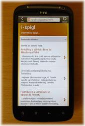 """iSPIGL nyní i v """"chytrém"""" mobilu"""