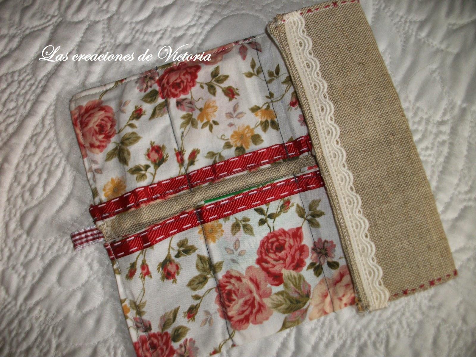 Las creaciones de Victoria. Vintage. Guarda-infusiones de patchwork