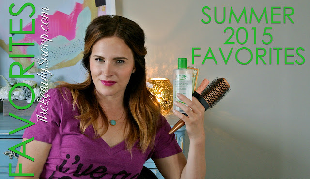 BEAUTY BLOGGER APPROVED // SUMMER 2015 FAVORITES