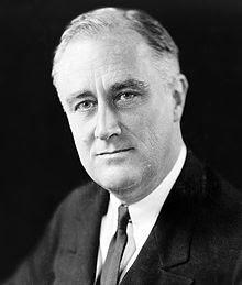 FRANKLIN D. ROOSEVELT (1882-1945) 32nd AMERICAN PRESIDENT