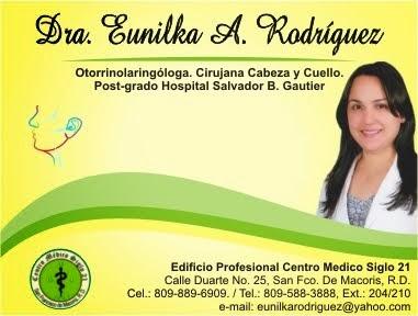 Dra. Eunilka Rodríguez