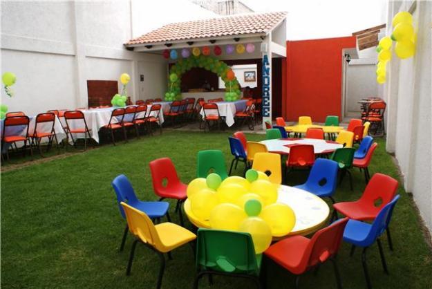 Preparativos para la primera comuni n for Imagenes de jardines para fiestas