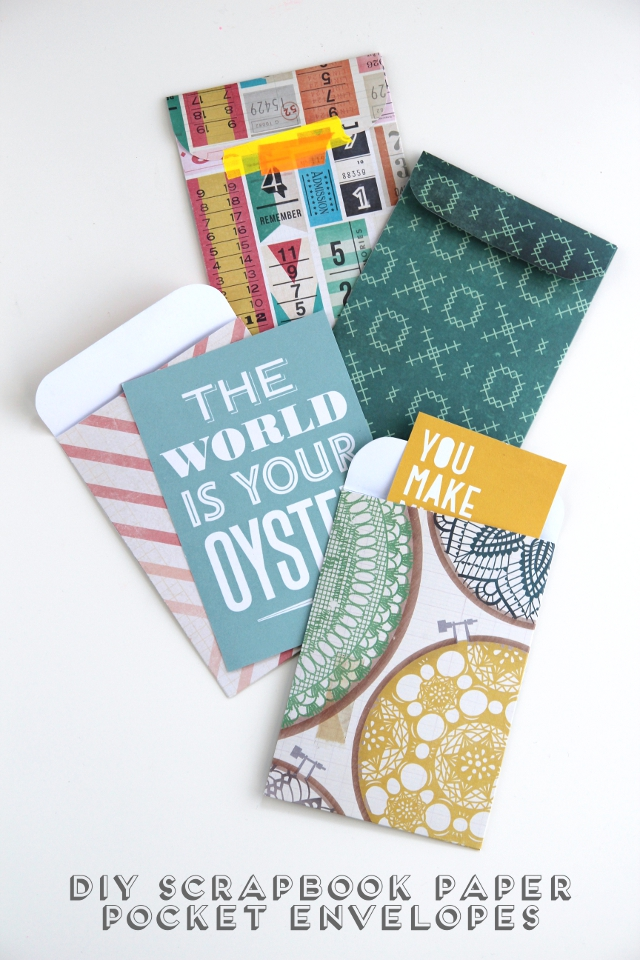 Easy Crafts To Do With Scrapbook Paper