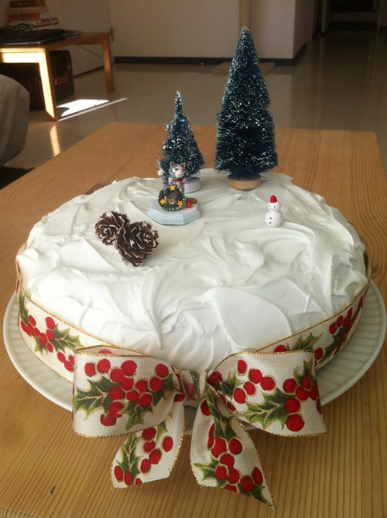 christmas cake icing no glycerin