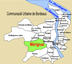 Le dpartement de la Gironde, Mrignac 