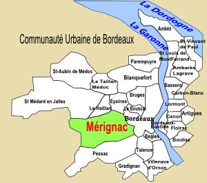 Le département de la Gironde, Mérignac