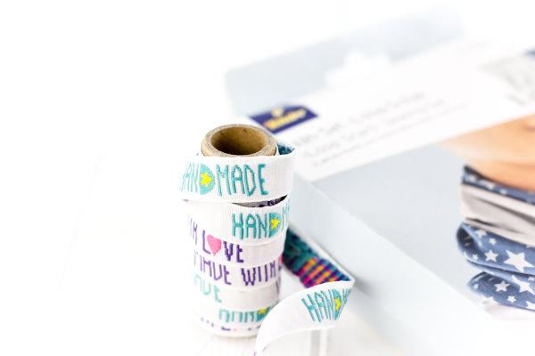 Handmade - Webetiketten  zum Einnähen