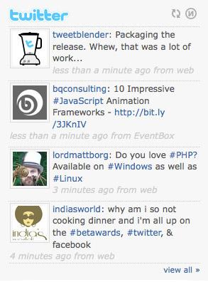 tweet-blender-wordpress-jquery-plugin