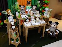 Decoração de festa infantil Mickey Safári Porto Alegre