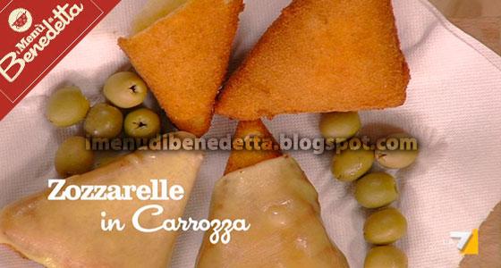 Zozzarelle in carrozza la ricetta di benedetta parodi for Mozzarella in carrozza parodi
