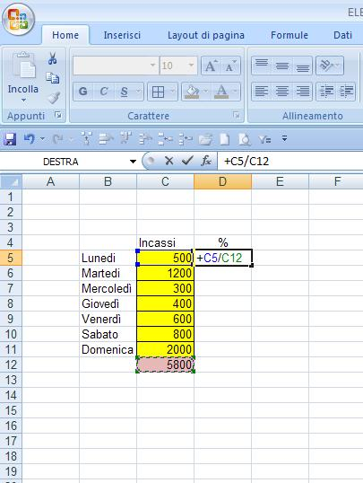 how to create a calculate on word