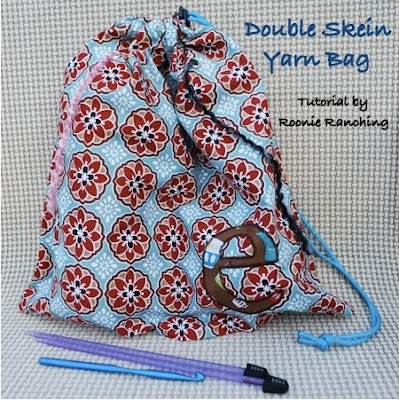Title photo for Double Skein Yarn Bag sewing tutorial