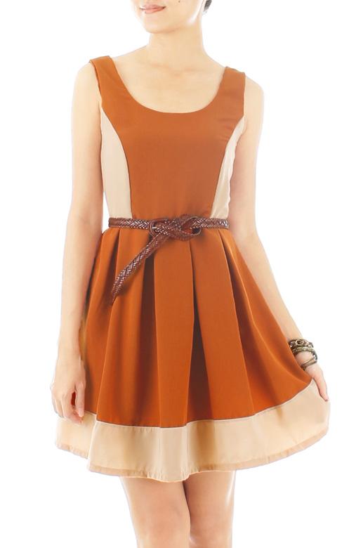 Princess Pocahontas Flare Dress