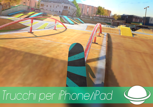 Touchgrind Skate 2 trucchi per iPhone e iPad