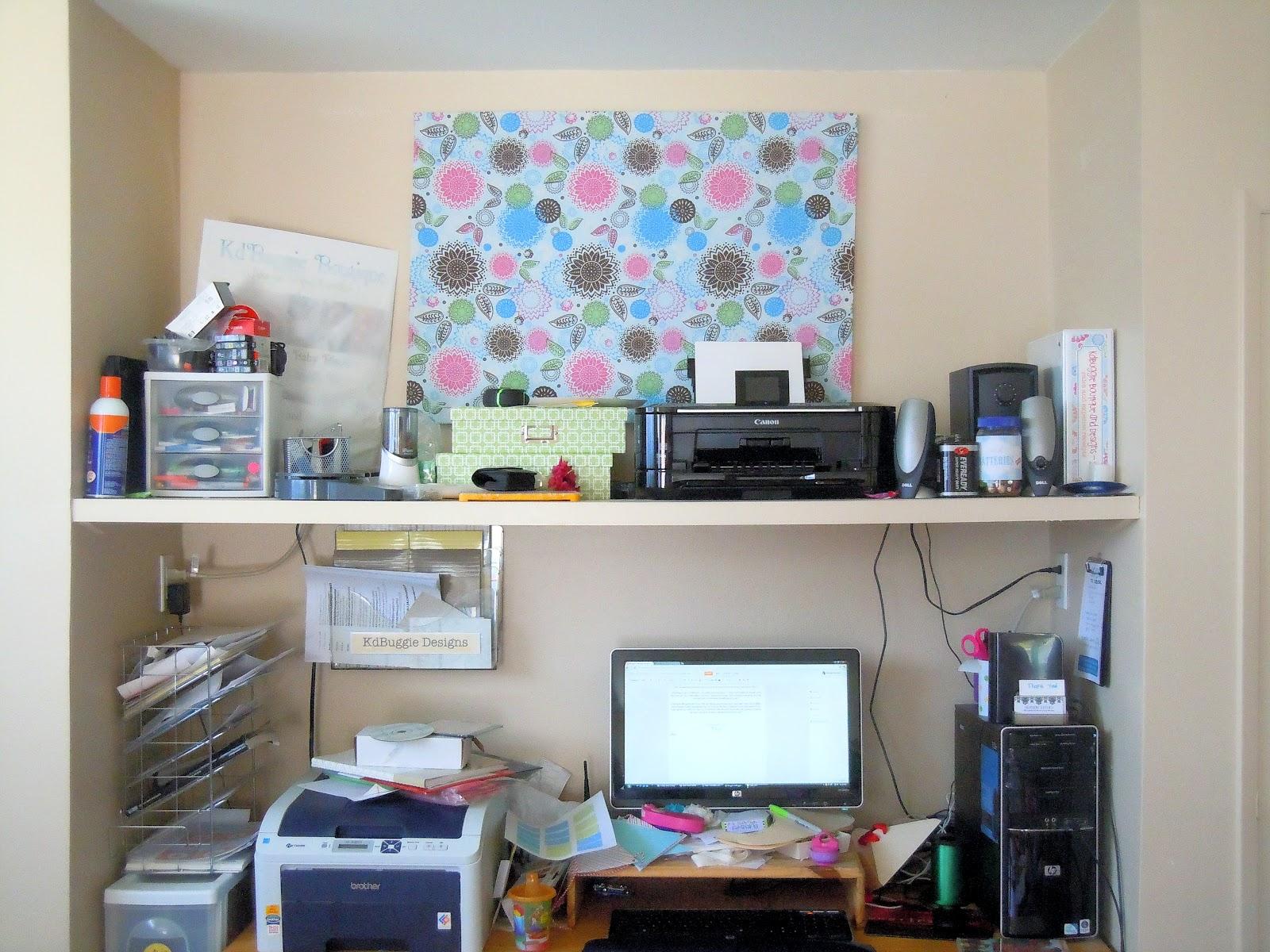 Naturally Creative Mama Craft Room Decor Keep Calm