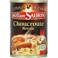 Choucroute royale - William saurin